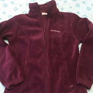 COLUMBIA Women's magenta jacket, size medium